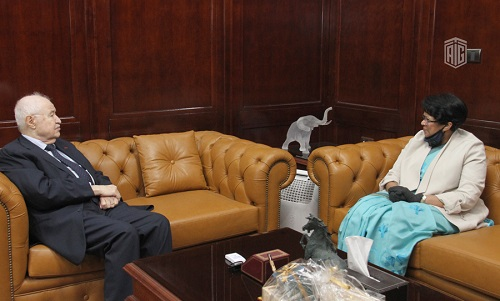 Abu-Ghazaleh and Ambassador of Sri Lanka Discuss Means of Cooperation
