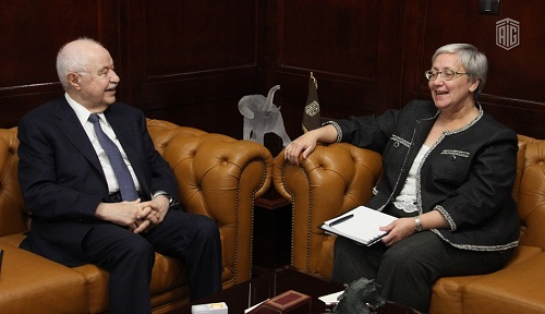 Abu-Ghazaleh and Newly-appointed Canadian Ambassador to Jordan Discuss Key Issues; TAGTech's Products Facility