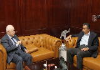 Abu-Ghazaleh Receives Jordan Ambassador to Kenya and Uganda, Discusses Issues of Mutual Interest