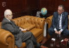 Abu-Ghazaleh Discusses Means of Cooperation with Venezuelan Ambassador to Jordan
