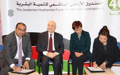 The Jordanian Hashemite Fund and Talal Abu-Ghazaleh Organization Sign a Cooperation Agreement