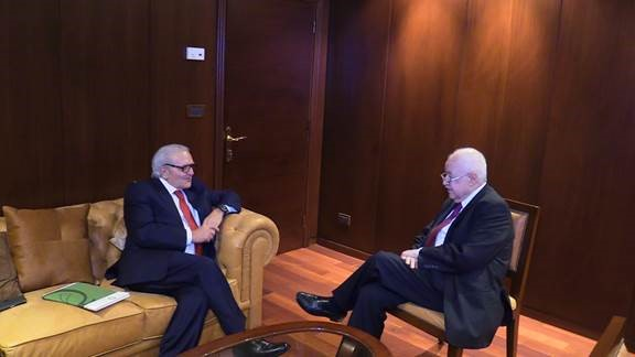 Abu-Ghazaleh and ACRLI Discuss Launch of the 'Arab Organization for the Rule of Law'