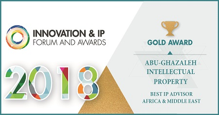 Abu-Ghazaleh Intellectual Property Wins 'Best IP Advisor in Africa & Middle East Award'