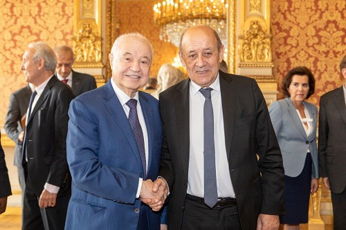 French Minister of Europe and Foreign Affairs Hosts Abu-Ghazaleh at Breakfast Meeting