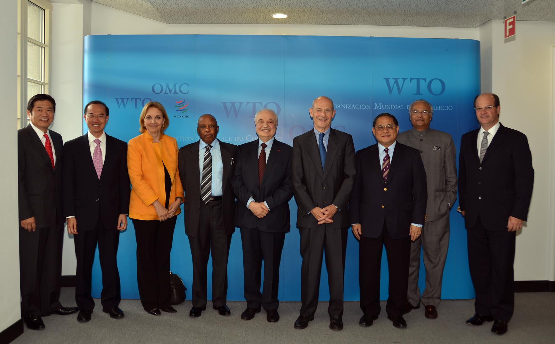 Dr. Abu-Ghazaleh Addresses WTO Forum, Participates in Panel of Experts Meetings